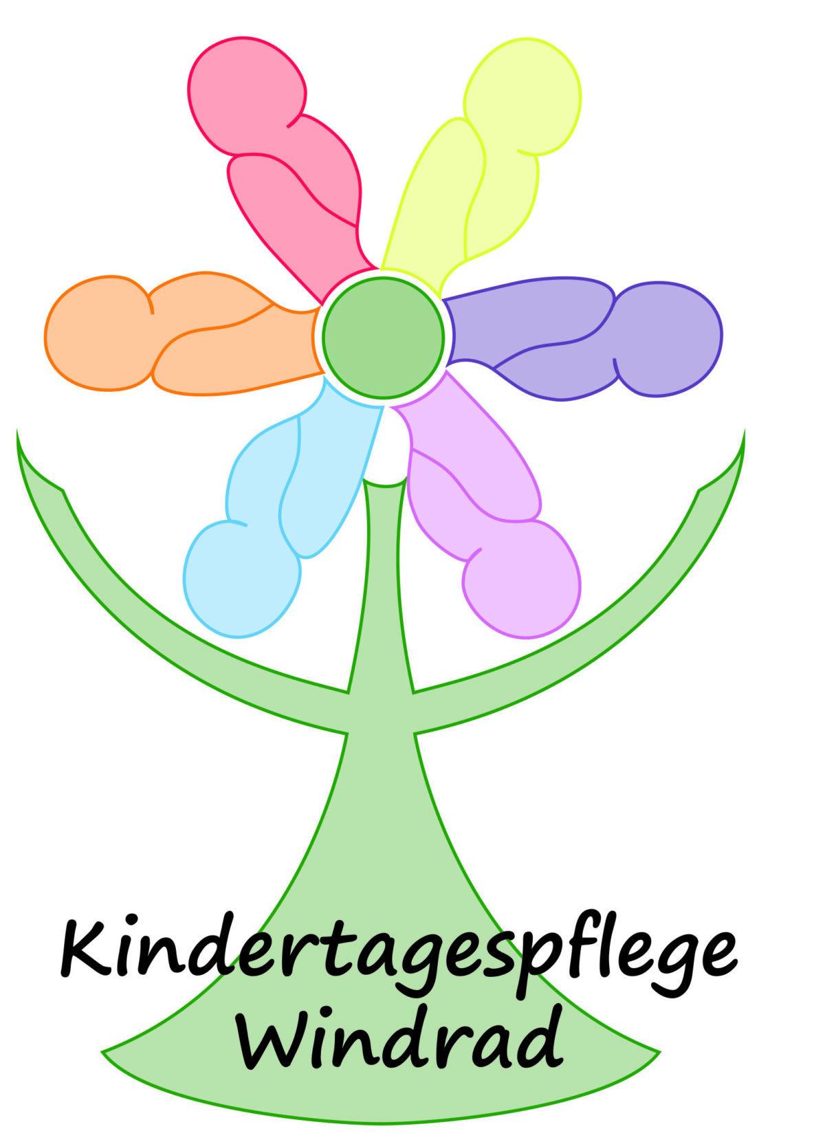 Kindertagespflege-Windrad